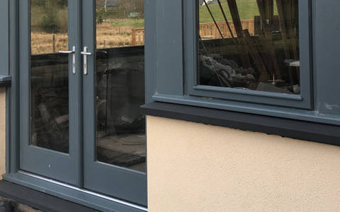 Mont Black Slate Window Sills