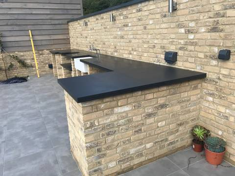 Mont Black Worktop