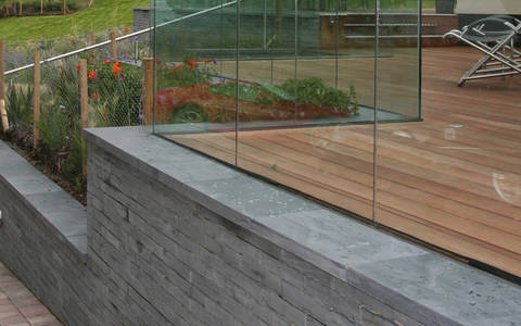 Coping Slate Wall