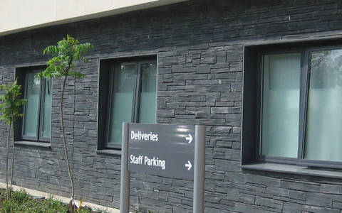 Welsh Slate Pillered Walling 1
