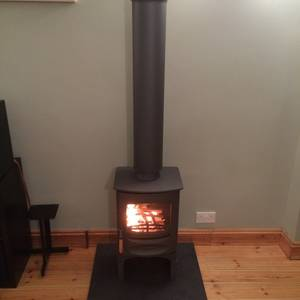 Mont Black Cleft Slate Hearth 7