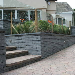 Welsh Slate Walling 8