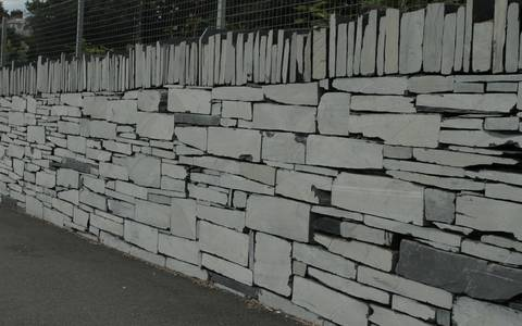 Sawn Welsh Slate Walling 26