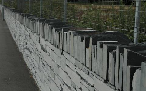 Sawn Welsh Slate Walling 30